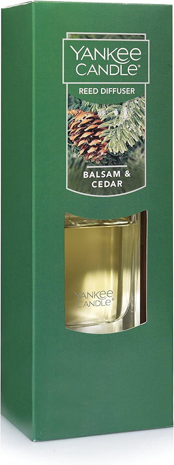 Yankee Candle Reed Diffuser, Balsam & Cedar