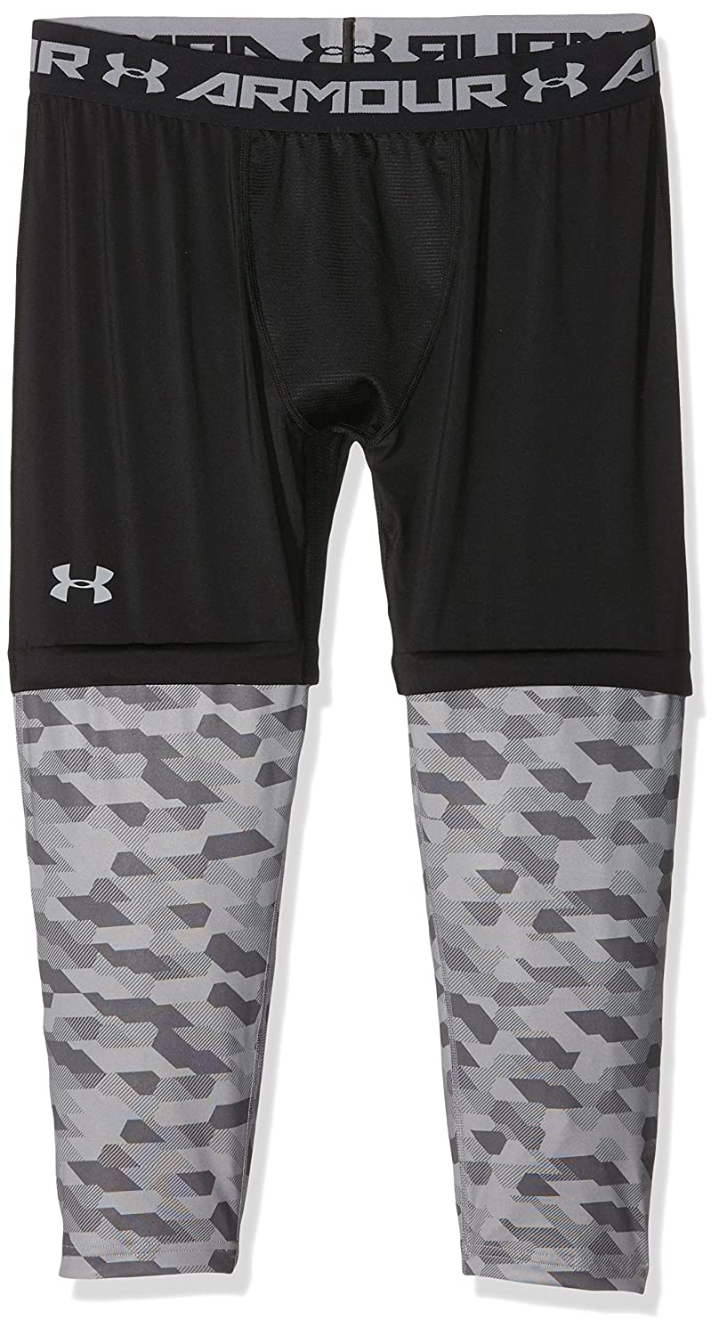 a66702e197a91 Amazon.com: Under Armour Mens Compression Performance Athletic Leggings  Black XL: Clothing