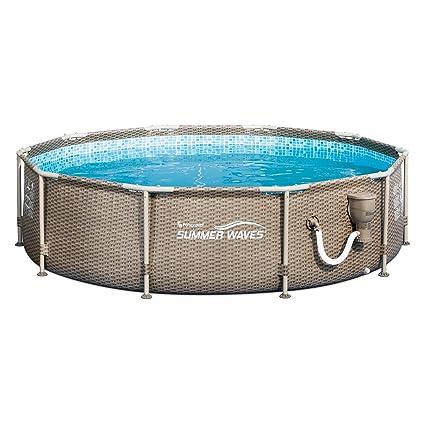 Amazon.com: Piscina de ondas de verano con impresión ...