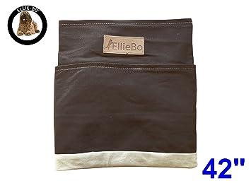 Ellie-Bo - Funda de Repuesto para Cama de Perro, 106,7 cm, tamaño XL, diseño de Rayas, marrón y Crema: Amazon.es: Productos para mascotas