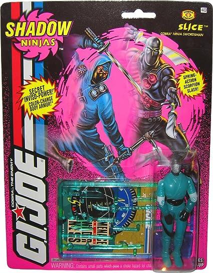 Amazon.com: Vintage 1993 GI Joe Shadow Ninjas Slice Color ...