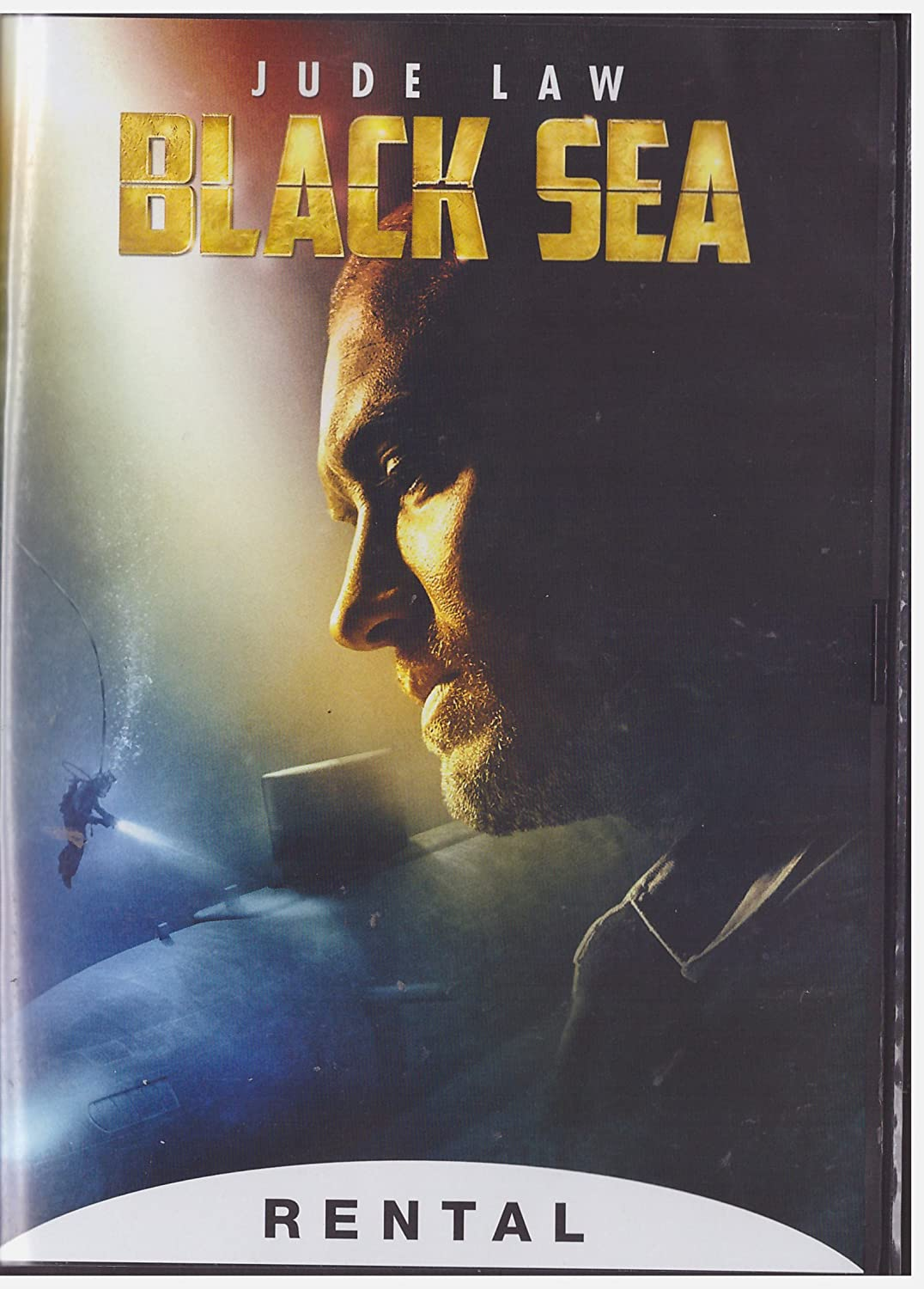 Amazon Com Black Sea Dvd 2015 Rental Exclusive Jude Law Karl Davies Kevin Macdonald Movies Tv