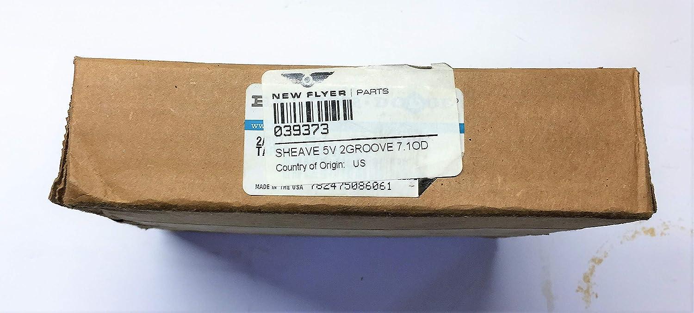 Baldor Dodge 7 Sheave 5v 2 Groove AV04140918 NOS