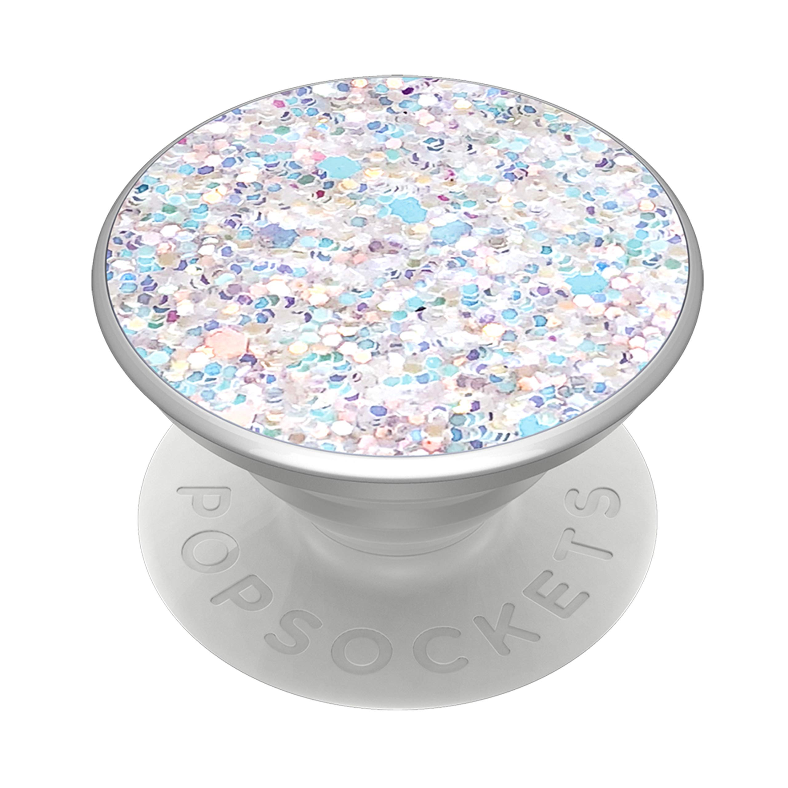 PopSockets PopGrip: Swappable Grip for Phones & Tablets - Sparkle Snow White by PopSockets