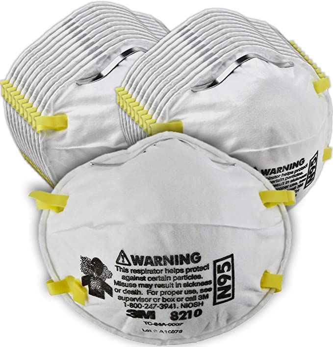 8210 N95 Particulate Dust Respirator Grinding 3m Smoke