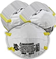 3M Particulate Respirator 8210, N95, Smoke, Dust, Grinding, Sanding, Sawing, Sweeping