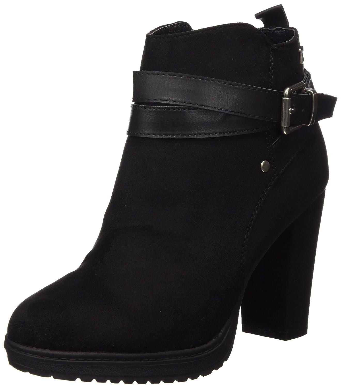 Refresh Botin Sra. Antelina Negro, Zapatos de Tacón para Mujer 37 EU Negro