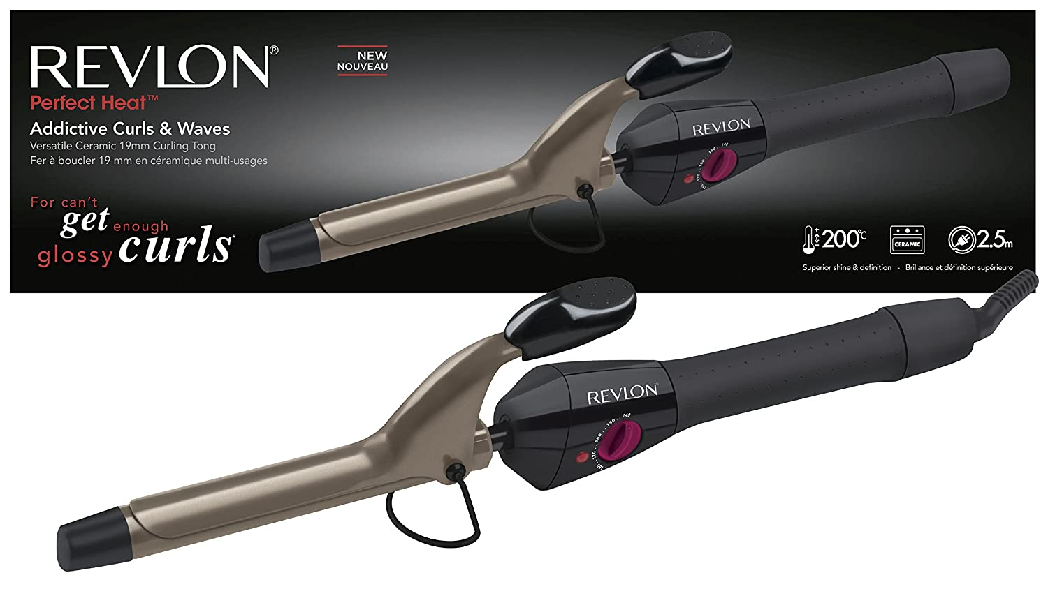 Revlon Addictive Curls and Waves curling tong Helen of Troy RVIR1409UK