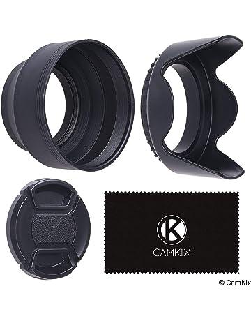 vhbw Parasol de Gran Angular 52mm para Objetivos de c/ámaras Nikon 24 mm 2.8 AF D Nikon 28 mm 2.8 AF D.