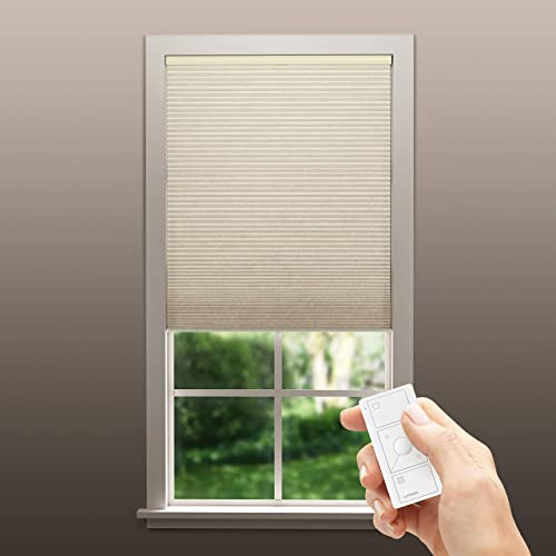 Serena Smart Shades by Lutron Custom Automated Window Blinds Room Darkening, Inside Mount Shell