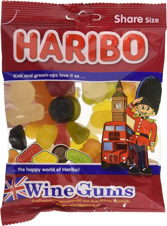 200g de gominolas Haribo Wine Gums por sólo 1,75€