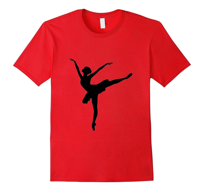 Ballerina Ballet Dancer t-shirt Toe Shoes Recital Graceful-CD