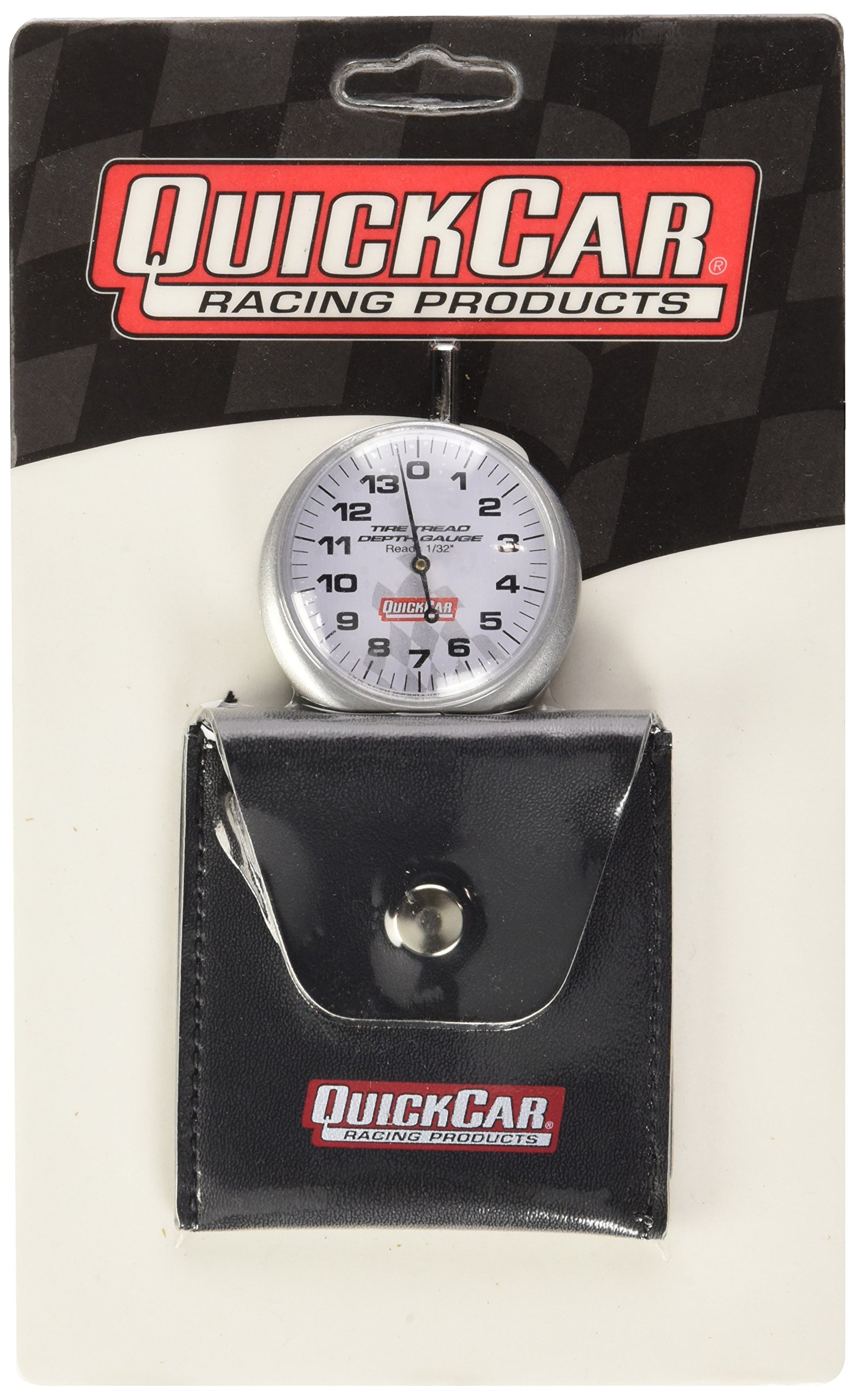 QuickCar Racing Products 56-104 1/32'' Increment Tire Tread Depth Gauge