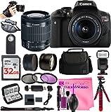 Canon Rebel T6i Digital SLR Camera Bundles (ULTIMATE Bestselling Camera Works Bundle!!)