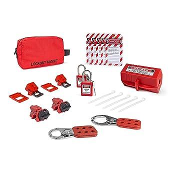 Amazon.com: Kit de cierre eléctrico con ganchos, cierres de ...