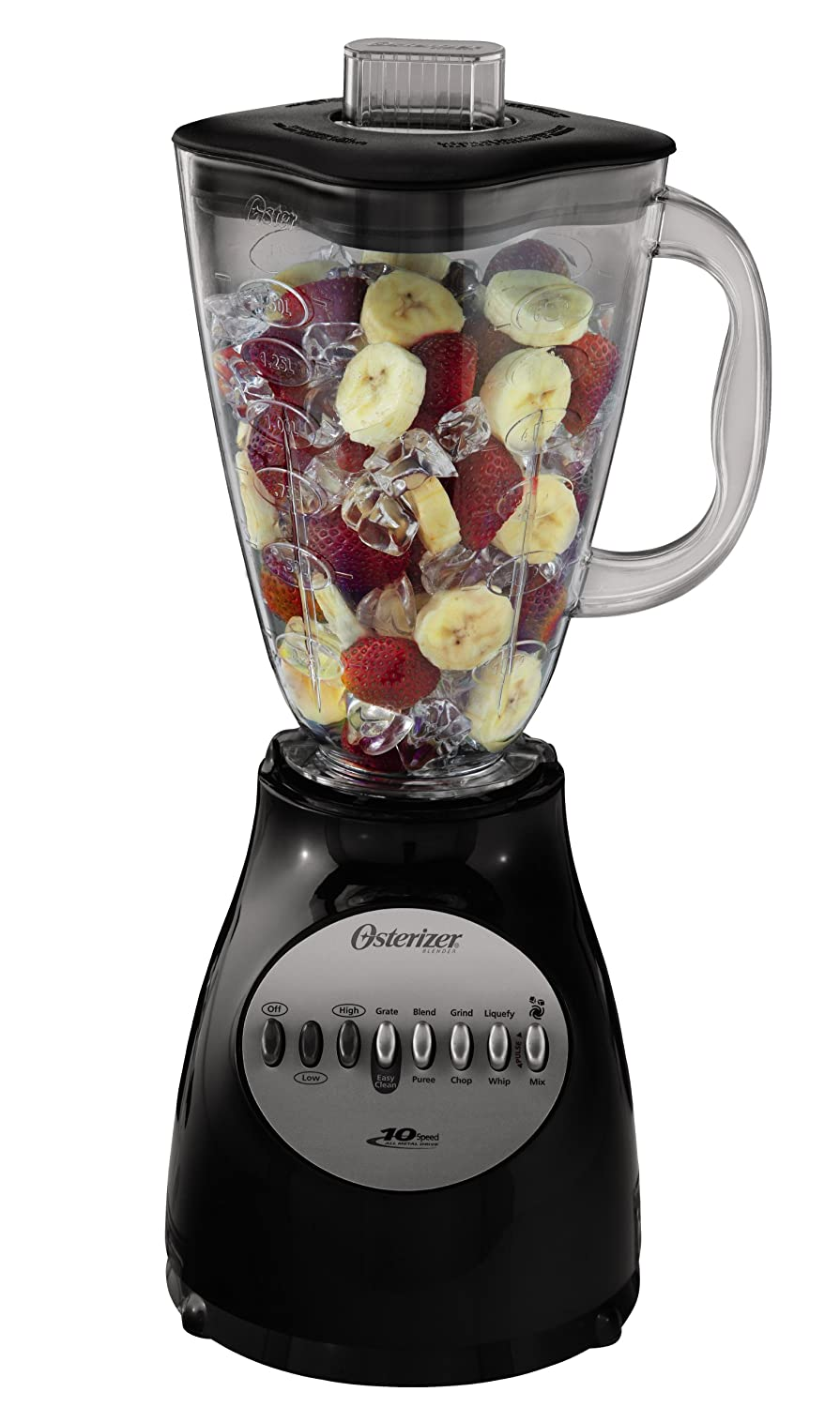 Oster 6629-BK 10-Speed Blender, Black