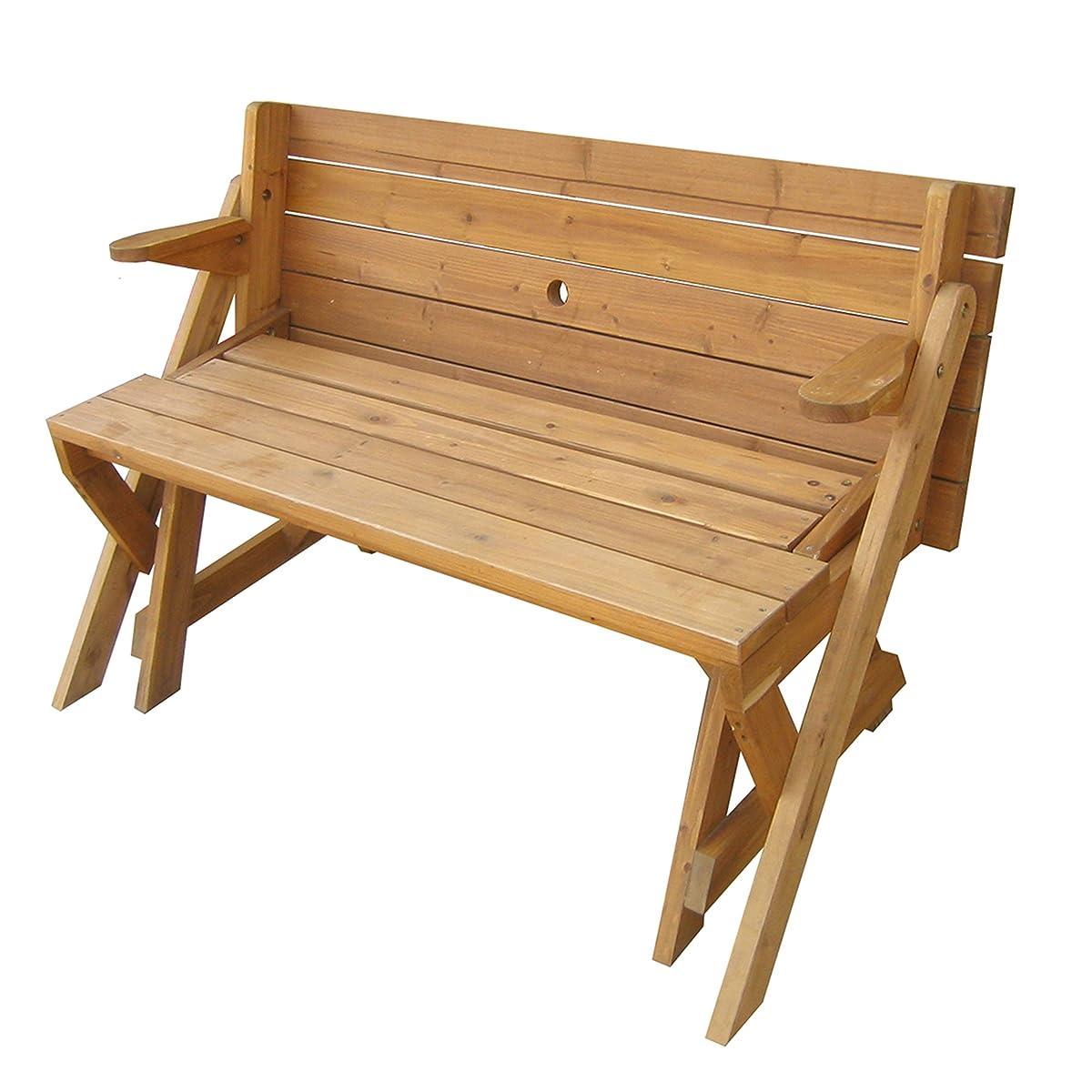 Merry Garden Interchangeable Picnic Table and Garden Bench