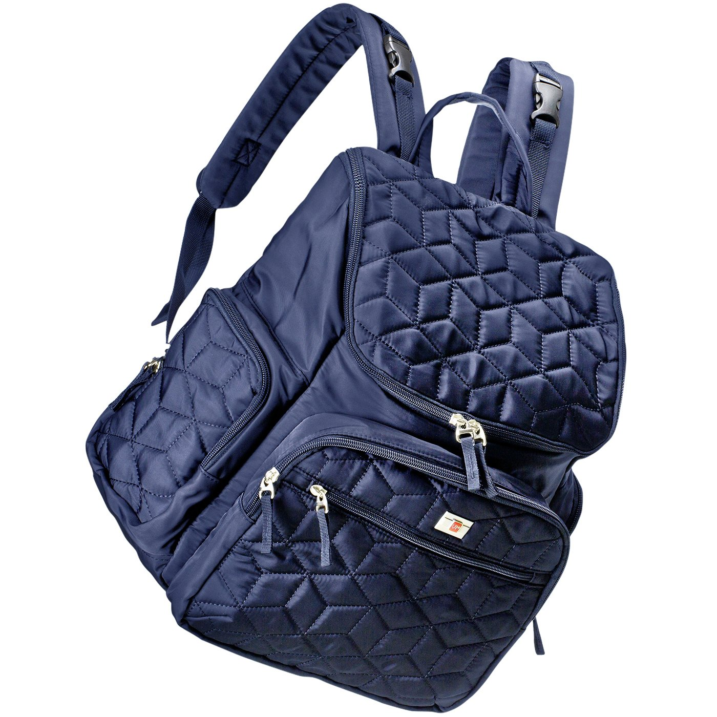 AROHA Baby Backpack Changing Bag for Mummy with Insulated Pouch and Folding Changing Mat for Girls and Boys (Blue) Sunflora