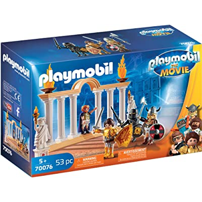 PLAYMOBIL The Movie Emperor Maximus in The Colosseum: Toys & Games