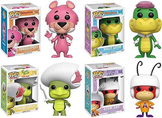 Funko POP! Hanna Barbera Mystery 6 Pack - Random Stylized Vinyl Figure Set NEW: Amazon.es: Juguetes y juegos