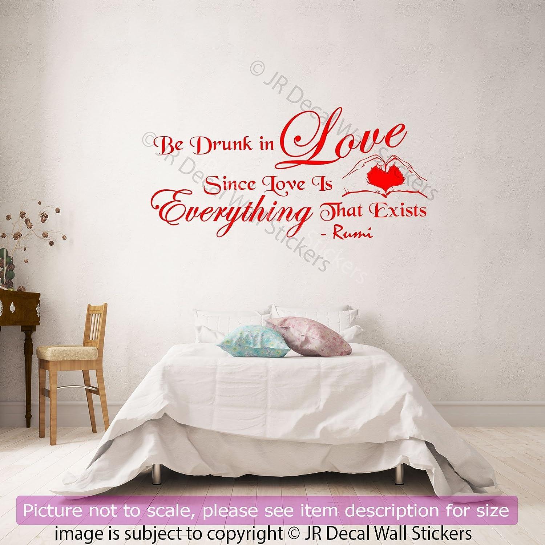 Amazon Jalaluddin Rumi Quote On Love Vinyl Wall Art Stickers