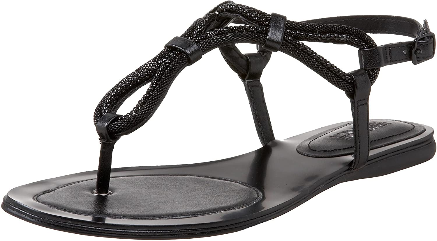 Kenneth Cole REACTION Women's Shes Thong Gem Flat Sandal Outlet sale feature A Store