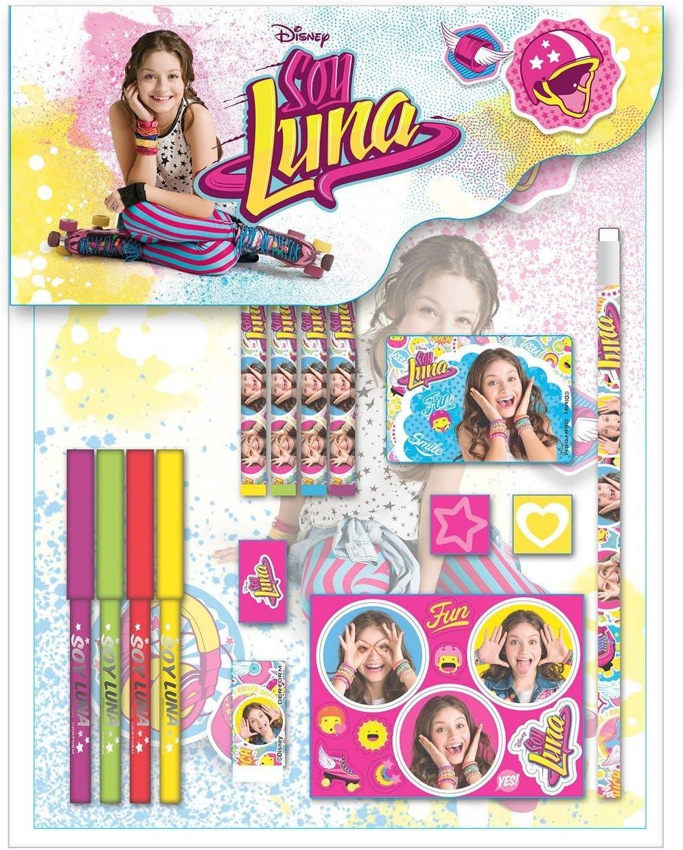 Disney Soy Luna gro/ßes Schreibset 15 Teile