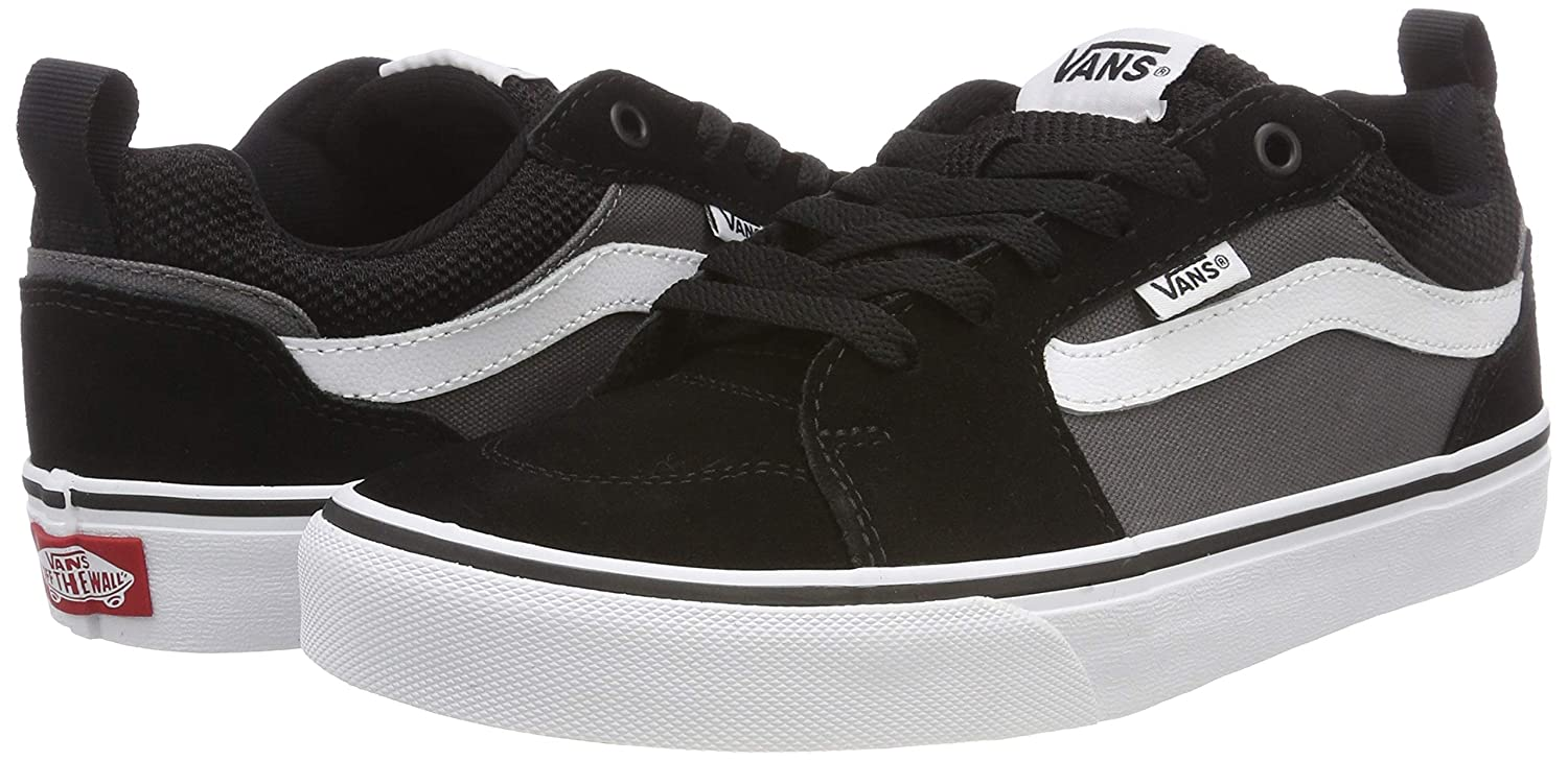f8806b2aaf Vans Men s Filmore Shoes Suede Canvas Black Grey 11.5 B(M) US Women   10  D(M) US  Buy Online at Low Prices in India - Amazon.in