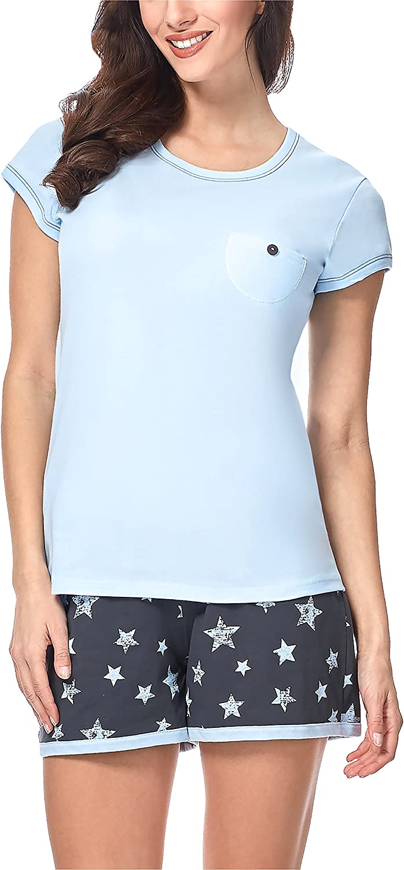 Italian Fashion IF Pijama Camiseta y Pantalones Mujer 7492T1 0227