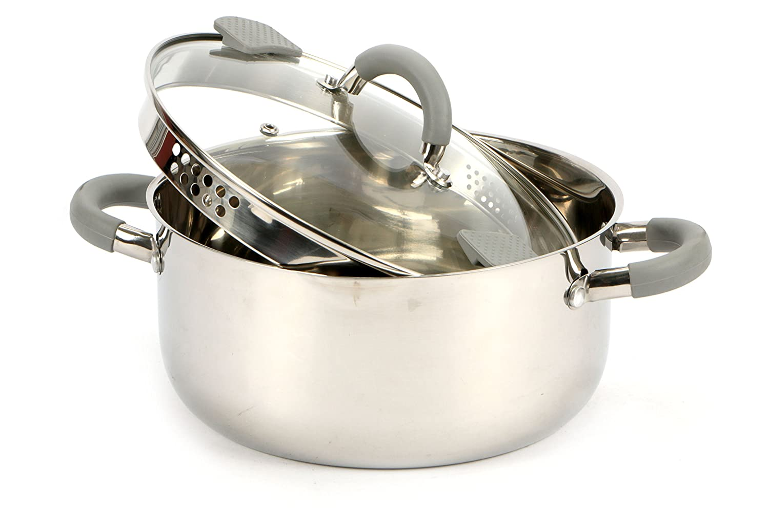 Imperial Stainless Steel Pasta Cooker, Stainless Steel, 26x 35x 18cm Imperial inox 41701