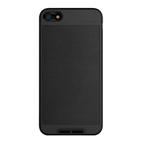 online store 33cb7 e81aa iPhone 6 Plus / 6s Plus Case || Moment Photo Case in Black Canvas - Thin,  Protective, Wrist Strap Friendly case for Camera Lovers.