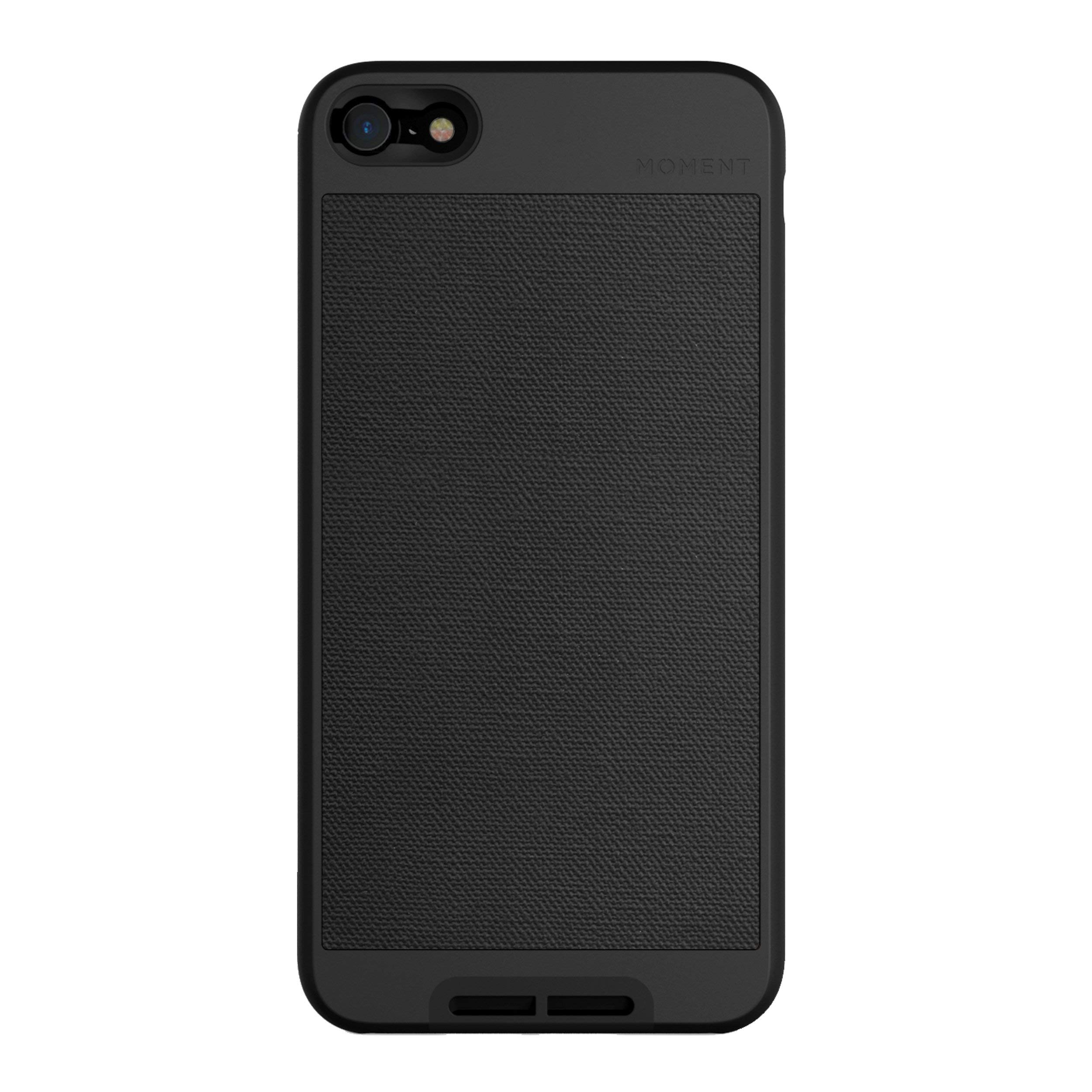ویکالا · خرید  اصل اورجینال · خرید از آمازون · Moment iPhone 6 Plus / 6s Plus Case Photo Case in Black Canvas - Thin, Protective, Wrist Strap Friendly case for Camera Lovers. wekala · ویکالا