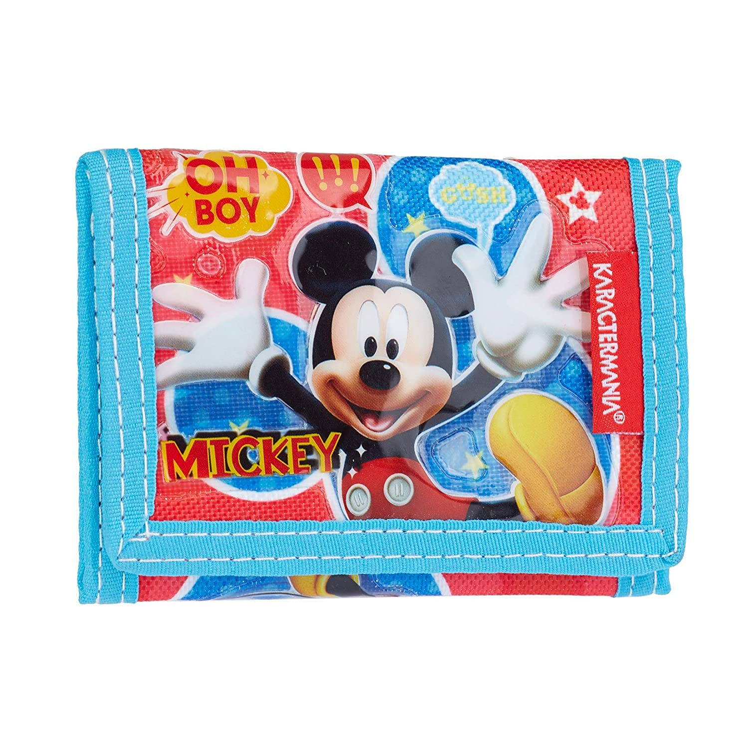 Karactermania Mickey Mouse Jump Monedero, 12 cm, Rojo ...