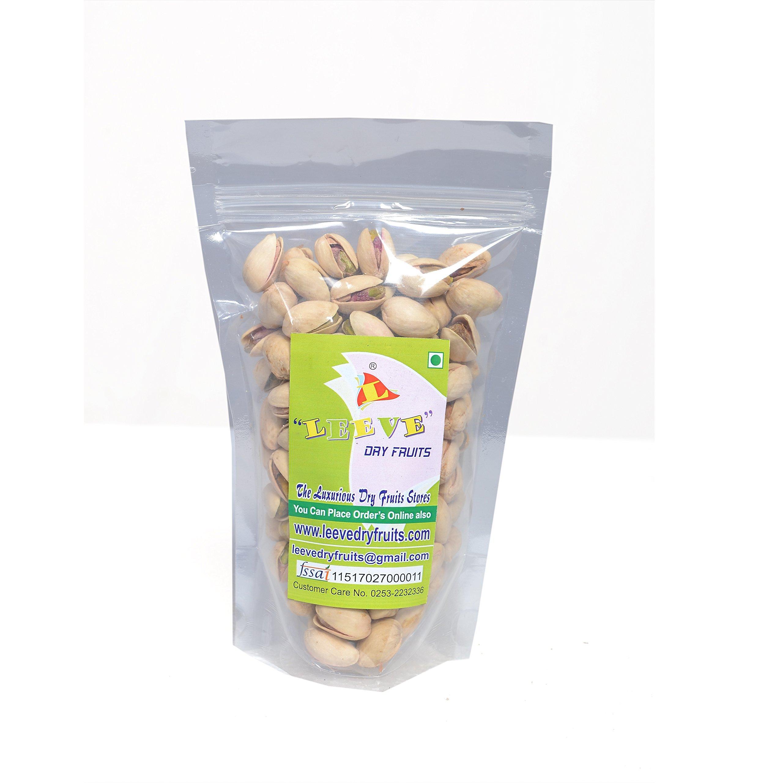 Leeve Dry Fruits California Salted Pistachios Khara Pista, 200 Grams