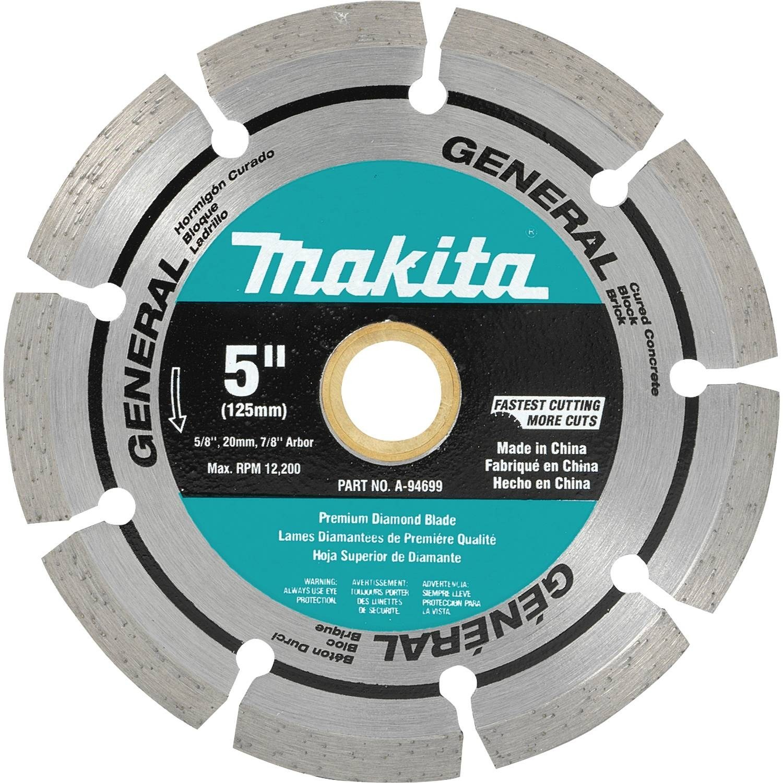Disco de Diamante MAKITA A-94699 segmentado de uso general de 5 pulg.