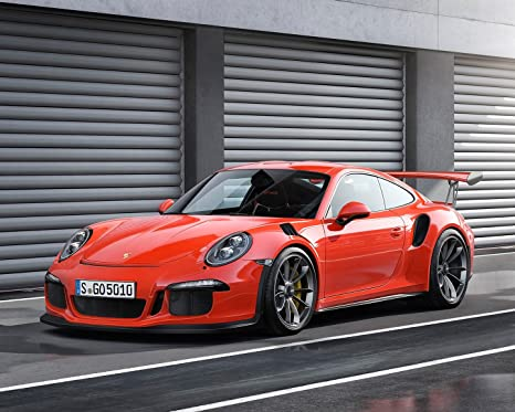 Porsche 911 Poster Car Poster Wall Decoration High Quality 16x20