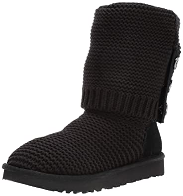 Amazoncom Ugg Womens W Purl Cardy Knit Fashion Boot Snow Boots