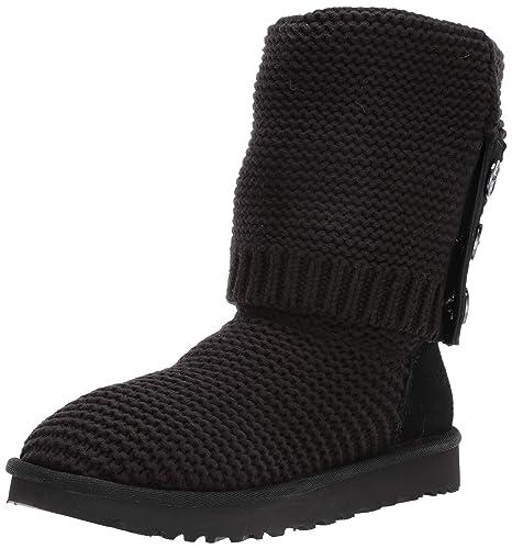 amazon com ugg women s w purl cardy knit fashion boot snow boots rh amazon com
