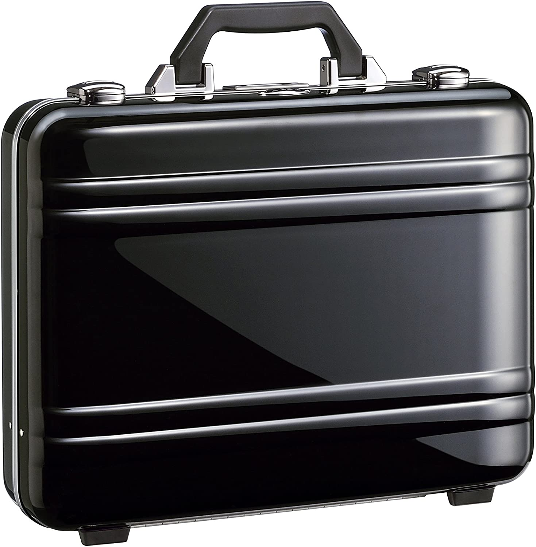 Zero Halliburton 2.0 Large Classic Framed Polycarbonate Attach Briefcase, Black, One Size