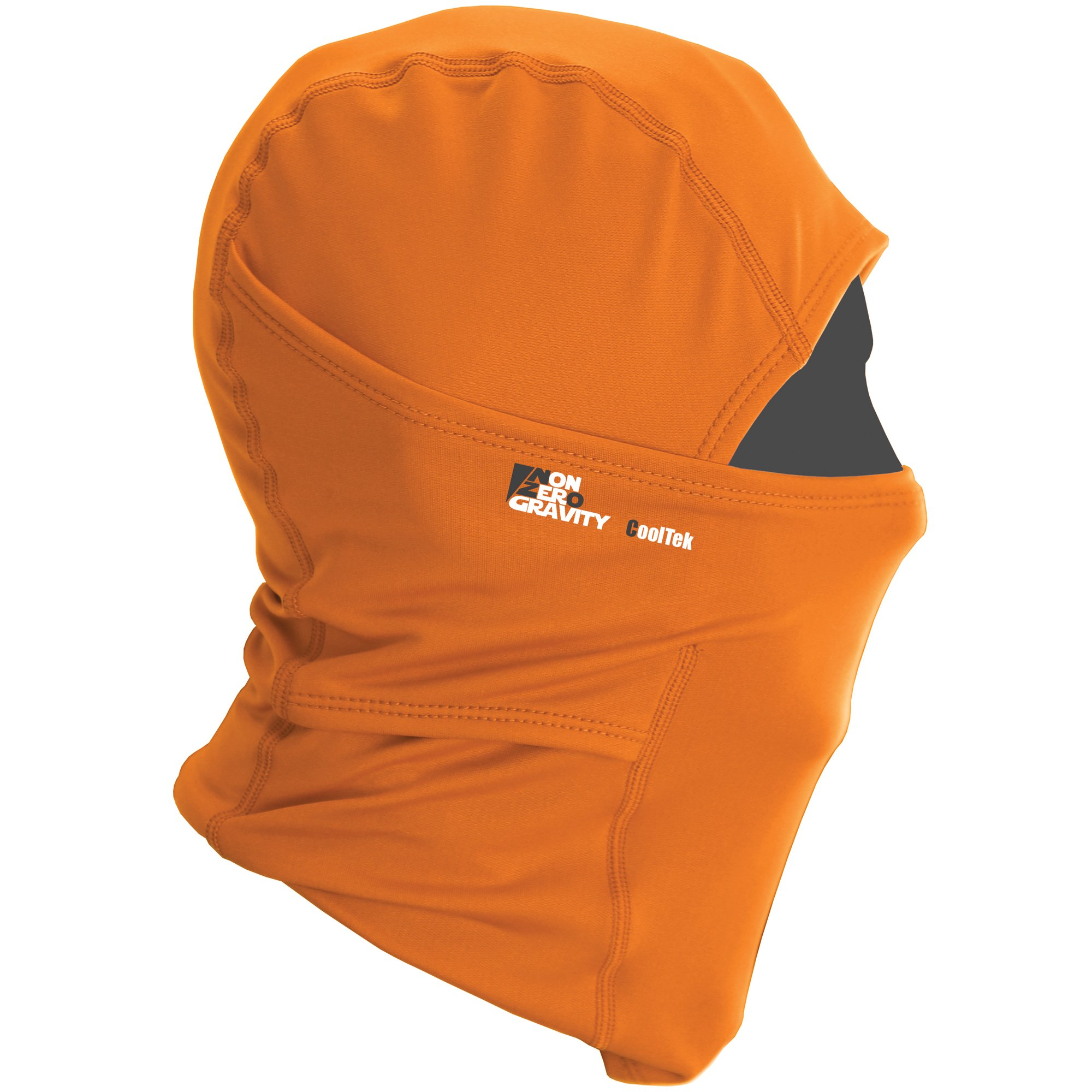 NonZero Gravity Cooling Hood | Tactical Hoodie, Head Wrap And Neck Scarf For Cycling, Biking And Sports (Tactical, Orange)