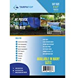 5' X 7' Blue Multi-purpose 6ml Waterproof Poly Tarp