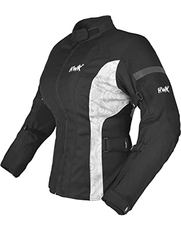 HWK Women s Motorcycle Jacket For Women Rain Waterproof Moto Riding Ladies  Motorbike Jackets CE Armored ( 2d3e4baf8