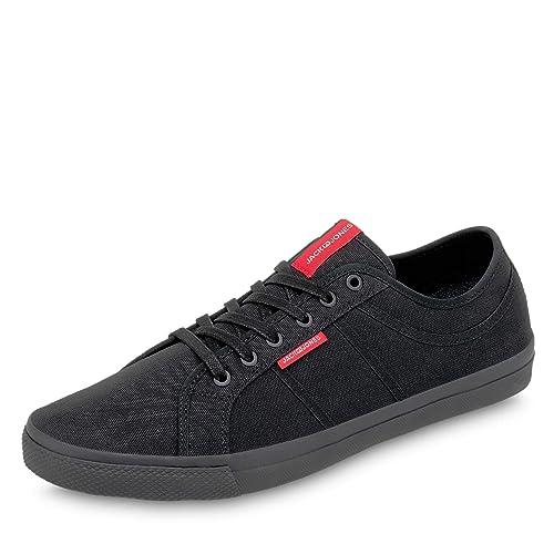 hot sale online 29fa8 3bf74 JACK & JONES 12150426 JFWROSS Herren Sneaker aus Textil  Textilinnenausstattung