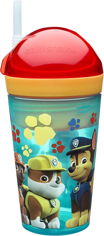 2 PACK OF SIP A CUP PAW PATROL BUILT-IN STRAW Kids Drink Cup Tumbler BPA FREE