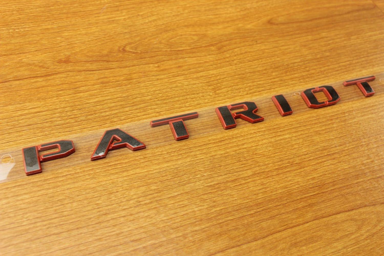 "JEEP PATRIOT Set of 2 Door Black /""Patriot/"" Nameplate NEW OEM MOPAR"