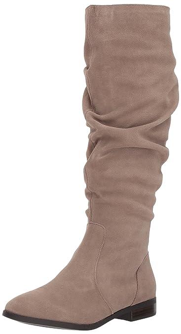 Steve Madden Women's Beacon Fashion Boot Black Suede Size 9.5