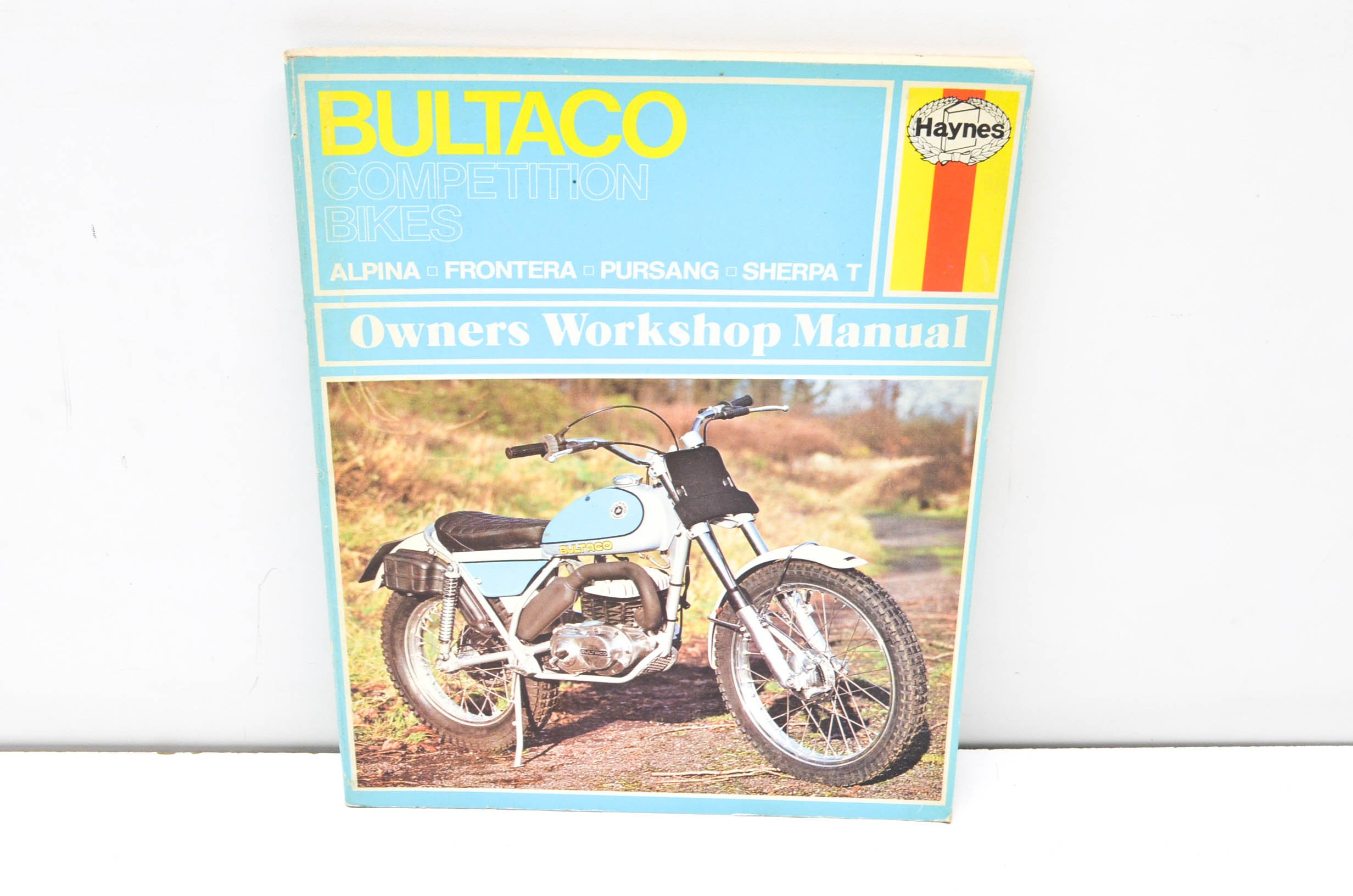 Haynes Bultaco Competition Bikes Owners Workshop Manual, No. 219: '72 - '75:  Jeff Clew: 9780856962196: Books - Amazon.ca