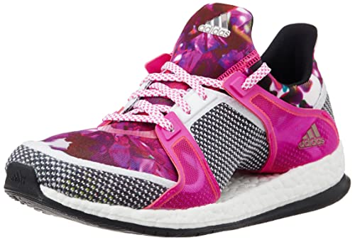 more photos 81218 2ca90 adidas Women s s Pure Boost X TR W Running Shoes White Black Pink (Ftwbla
