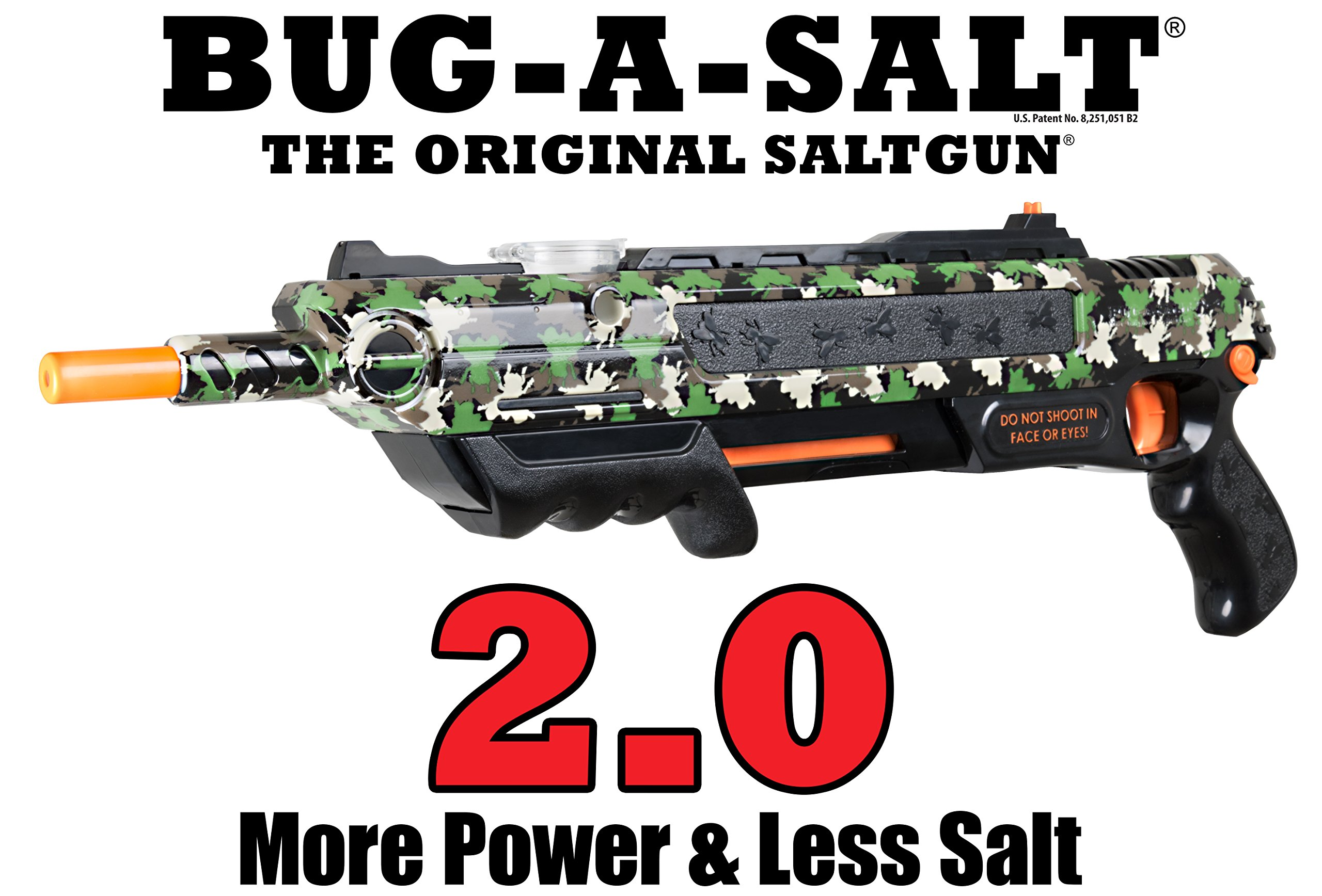 Bug-A-Salt Camofly 2.0 Insect Eradication Gun by SKELL INC.