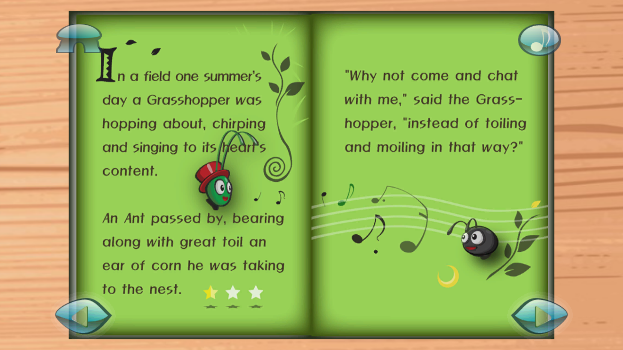 amazon com the ant and the grasshopper 3d pop up story book